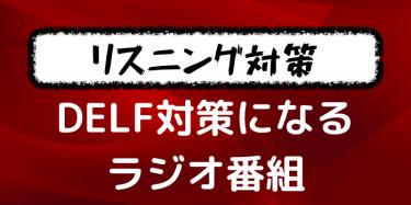 【DELF試験対策】リスニング力を鍛える!フランス語学習にオススメのラジオ番組rfi【B1B2】